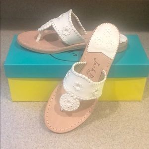 Jack Rogers, size 61/2 W white